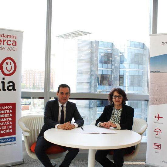 Sopra Steria apoya la formación y el acceso a las nuevas tecnologías como medio para luchar contra la exclusión social