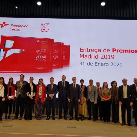 Balia galardonada con el premio valor de Fundación Cepsa